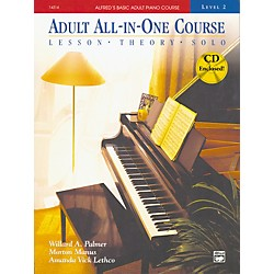 Alfred Alfred's Basic Adult All-in-One Piano Course Book 2 (00-14534)