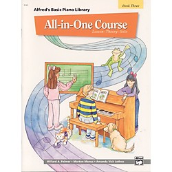 Alfred Alfred's Basic All-in-One Course Book 3 (00-5742)