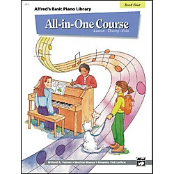 Alfred Alfred's Basic All-in-One Course for Children Book 4 (00-14512)