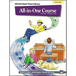 Alfred Alfred's Basic All-in-One Course for Children Book 5 (00-14513)