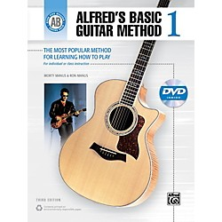 Alfred Alfred's Basic Guitar Method Level 1 Book and DVD (00-28374)