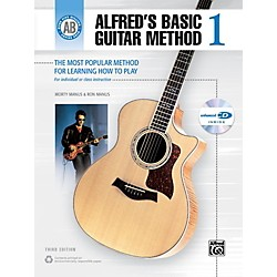 Alfred Alfred's Basic Guitar Method Level 1 Book and Enhanced CD (00-28227)