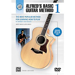 Alfred Alfred's Basic Guitar Method Level 1 DVD (00-28375)