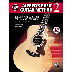 Alfred Alfred's Basic Guitar Method Level 2 Book and CD (00-28377)