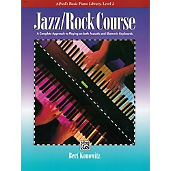 Alfred Alfred's Basic Jazz/Rock Course Lesson Book Level 2 (00-3141)