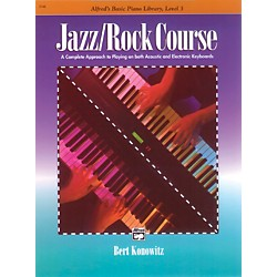Alfred Alfred's Basic Jazz/Rock Course Lesson Book Level 3 (00-3142)
