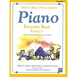 Alfred Alfred's Basic Piano Course Ensemble Book 3 (00-5738)