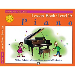 Alfred Alfred's Basic Piano Course Lesson Book 1A Book 1A & CD (00-20656)