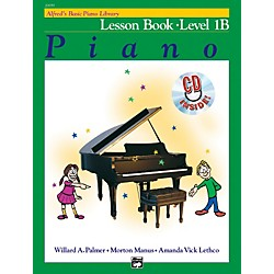 Alfred Alfred's Basic Piano Course Lesson Book 1B Book 1B & CD (00-20659)