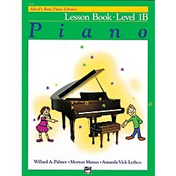 Alfred Alfred's Basic Piano Course Lesson Book 1B (00-2106)