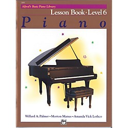 Alfred Alfred's Basic Piano Course Lesson Book 6 (00-2498)
