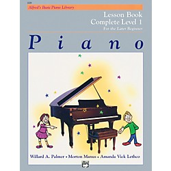 Alfred Alfred's Basic Piano Course Lesson Book Complete 1 (1A/1B) (00-2229)