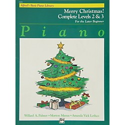 Alfred Alfred's Basic Piano Course Merry Christmas! Complete Book 2 & 3 (00-6486)