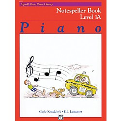 Alfred Alfred's Basic Piano Course Notespeller Book 1A (00-6186)
