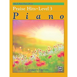 Alfred Alfred's Basic Piano Course Praise Hits Level 3 Book (00-40073)