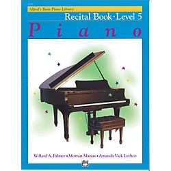 Alfred Alfred's Basic Piano Course Recital Book 5 (00-2117)