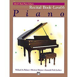 Alfred Alfred's Basic Piano Course Recital Book 6 (00-2499)