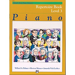 Alfred Alfred's Basic Piano Course Repertoire Book 3 (00-6189)