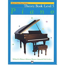 Alfred Alfred's Basic Piano Course Theory Book 5 (00-2125)