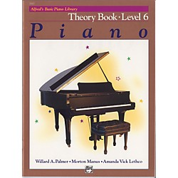 Alfred Alfred's Basic Piano Course Theory Book 6 (00-2517)