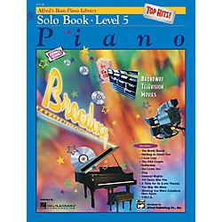 Alfred Alfred's Basic Piano Course Top Hits! Solo Book 5 (00-19658)
