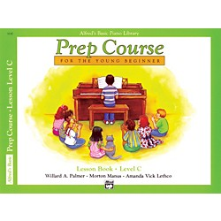 Alfred Alfred's Basic Piano Prep Course Lesson Book C (00-3130)