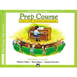 Alfred Alfred's Basic Piano Prep Course Solo Book C (00-3137)