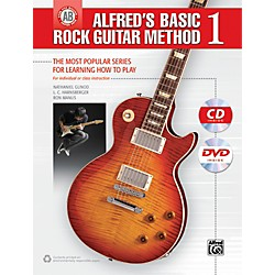Alfred Alfred's Basic Rock Guitar Method 1 (Book/CD/DVD) (00-41457)