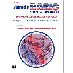 Alfred Alfred's Basic Solos and Ensembles Book 2 Oboe (00-1802)