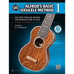 Alfred Alfred's Basic Ukulele Method Book/CD (00-36340)