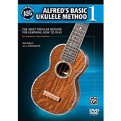 Alfred Alfred's Basic Ukulele Method DVD (00-36339)