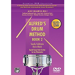 Alfred Alfred's Drum Method Book 2 Book & DVD in Hard Case (00-22012)