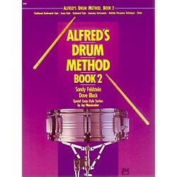 Alfred Alfred's Drum Method Book 2 (00-238)