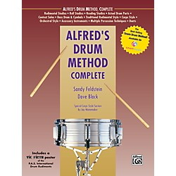 Alfred Alfred's Drum Method Complete Book & Rudiment Poster (00-39273)