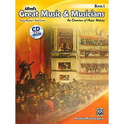 Alfred Alfred's Great Music & Musicians Book 1 & CD (00-39060)