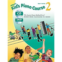 Alfred Alfred's Kid's Piano Course 2 Book, CD & DVD (00-41076)