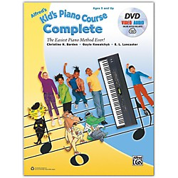Alfred Alfred's Kid's Piano Course Complete Book, CD & DVD (00-40092)