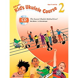 Alfred Alfred's Kid's Ukulele Course 2 Book & CD (00-38897)