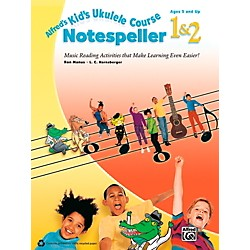 Alfred Alfred's Kid's Ukulele Course Notespeller 1 & 2 Book (00-40538)