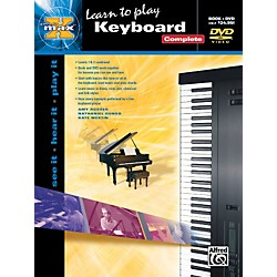 Alfred Alfred's MAX Keyboard Complete Book & DVD in Sleeve (00-25817)