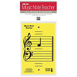 Alfred Alfred's Music Note Teacher All-In-One Flashcard Yellow (99-MNT002)