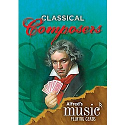 Alfred Alfred's Music Playing Cards Classical Composers (00-38799)