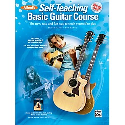 Alfred Alfred's Self-Teaching Basic Guitar Course Book, CD & DVD (00-37526)