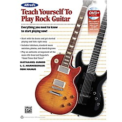 Alfred Alfred's Teach Yourself Rock Guitar Book & DVD (00-42010)