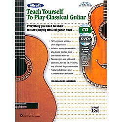 Alfred Alfred's Teach Yourself to Play Classical Guitar Book, CD & DVD (00-42697)