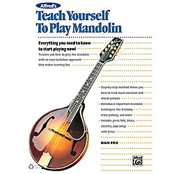 Alfred Alfred's Teach Yourself to Play Mandolin Book, CD & DVD (00-43008)