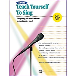 Alfred Alfred's Teach Yourself to Sing Book & Enhanced CD (00-11687)