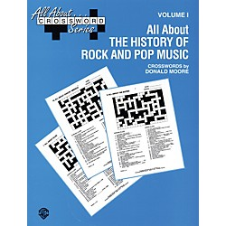 Alfred All About . . . Crossword Series Volume I All About the History of Rock and Pop Music Book (00-SVB00106)