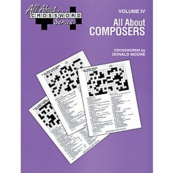 Alfred All About Composers Crossword Puzzles (00-SVB00109)