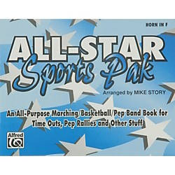 Alfred All-Star Sports Pak Horn in F (00-MBF9510)